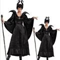 Cosplay role movie maleficent black witch black bat vampire coaplay dresses unisex costumes export play game uniform hot sale
