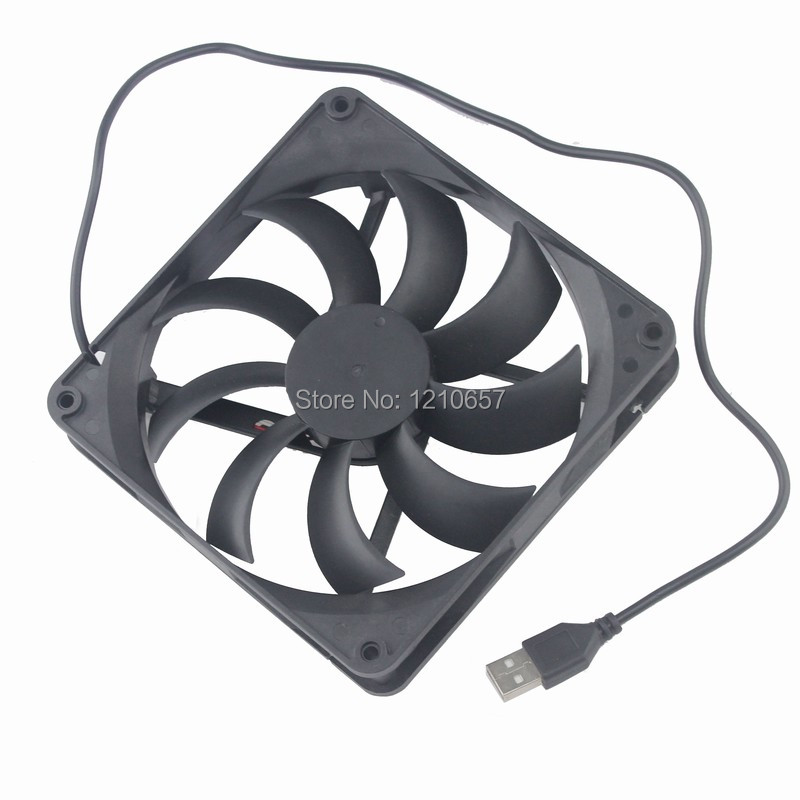 10 Pieces lot 5V USB Brushless PC CPU Case Cooling Cooler Fan 14cm 140mm 140x140x25mm гель la roche posay effaclar duo[ ] unifiant