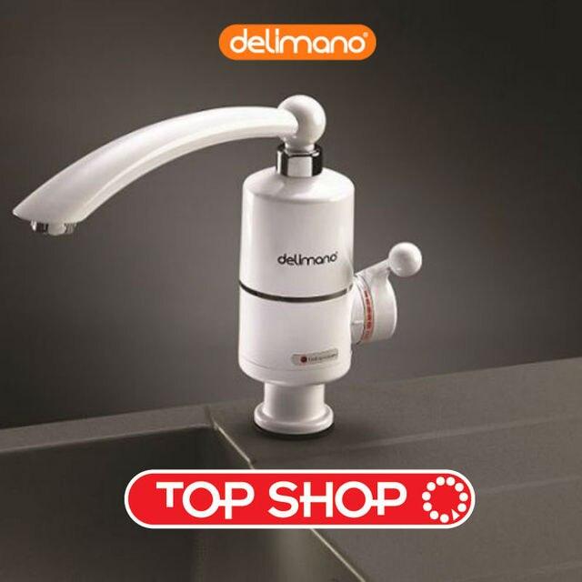 elektrische durchlauferhitzer delimano küche bad wasserhahn typ