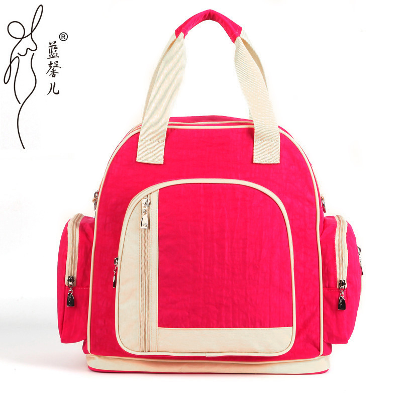 8 Colors Mummy Maternity Oxford Cloth Nappy Bag Multifunction Large Capacity Handbag Hobos Backpack