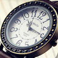 New WoMaGe Brand Watch Women Lady Girl Leather Strap Retro Style Dial Casual Fashion Women's Wrist Watch Bracelet Vintage Dress