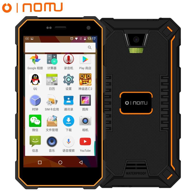 Oinom V18H IP68 Robuste téléphone étanche 2 GB 32 GB ROM Android 5.1 MT6752 Quad Core 13.0MP 5000 Mah Fdd Lte 5.0 Pouce LAISSER 4G FDD S10