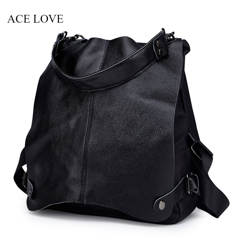 Fashion Genuine Leather Women Backpack Hot High Quality Famous Brand Ladies Student Style Girls School Bag Female Travel Bags luxury fashion retro pu leather famous brand women backpack american style ladies dark green bag college student school bags
