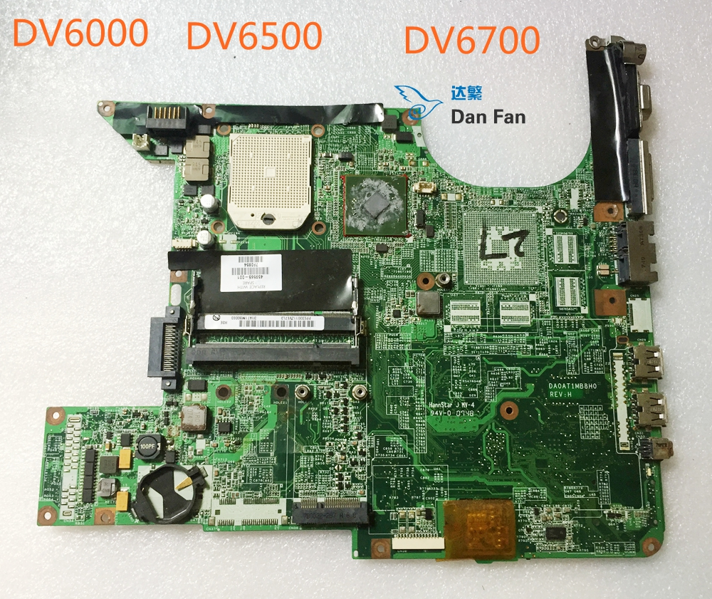 459565-001 For HP DV6700 DV6000 Laptop Motherboard DA0AT1MB8H0 Mainboard 100%tested fully work image