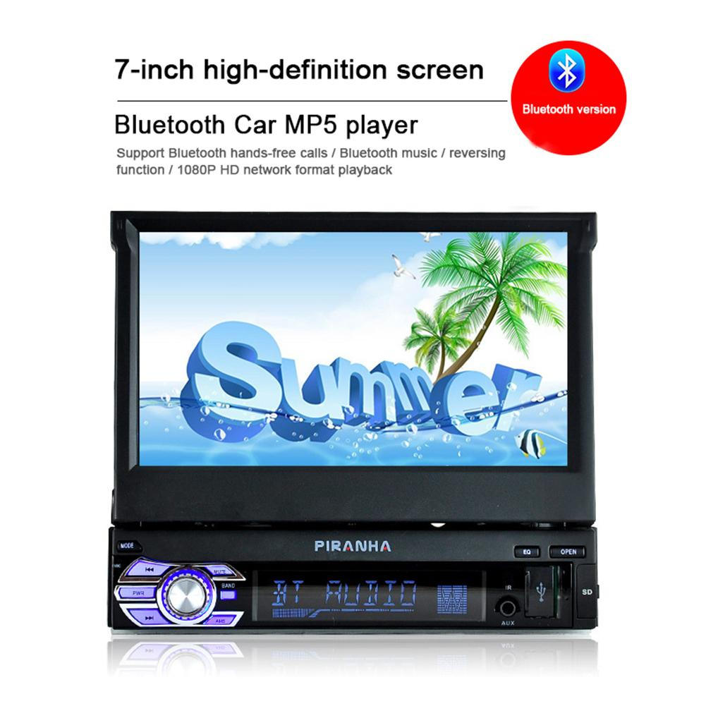1 DIN Window CE Car Radio MP5 Retractable Screen 7 Inch Car Bluetooth Call Reversing Gps BT With Mp3 Autoradio Bluetooth HD1 DIN Window CE Car Radio MP5 Retractable Screen 7 Inch Car Bluetooth Call Reversing Gps BT With Mp3 Autoradio Bluetooth HD