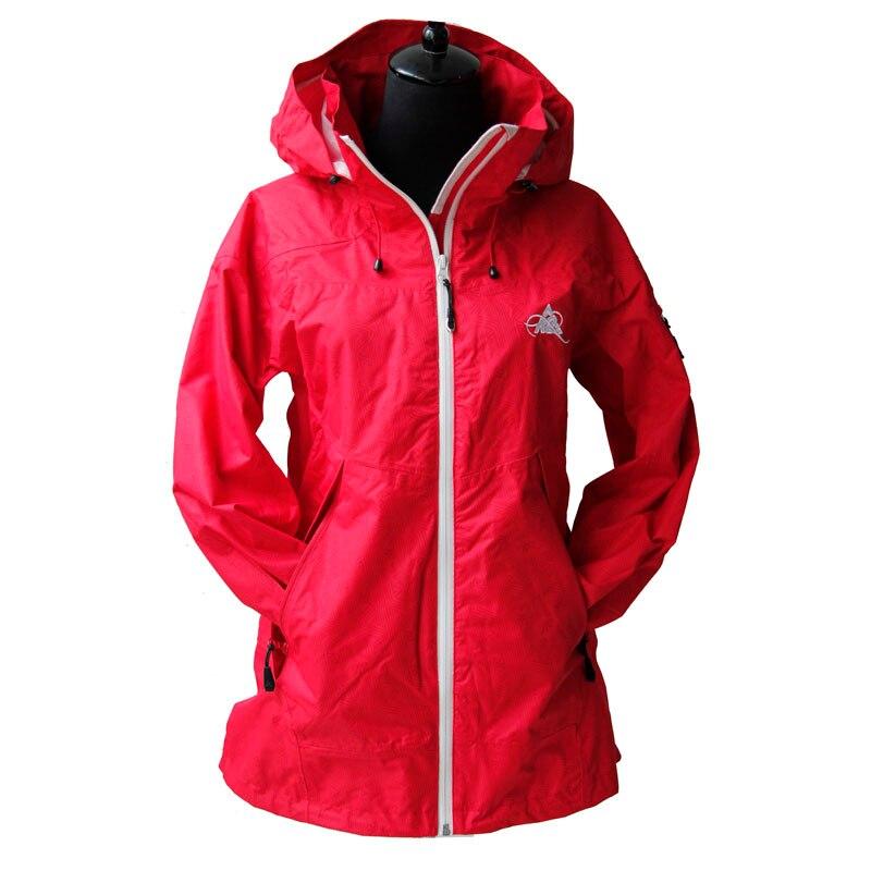 ФОТО Free Shipping Export K2 single-layer adhesive windbreaker/waterproof breathable windproof rainproof ourdoor jacket for women