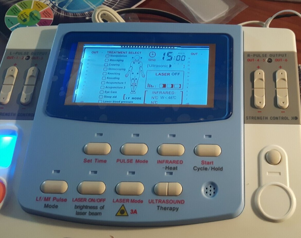 купить CE approval Laser therapy Device Low Frequency physiotherapy electrode pads Device недорого