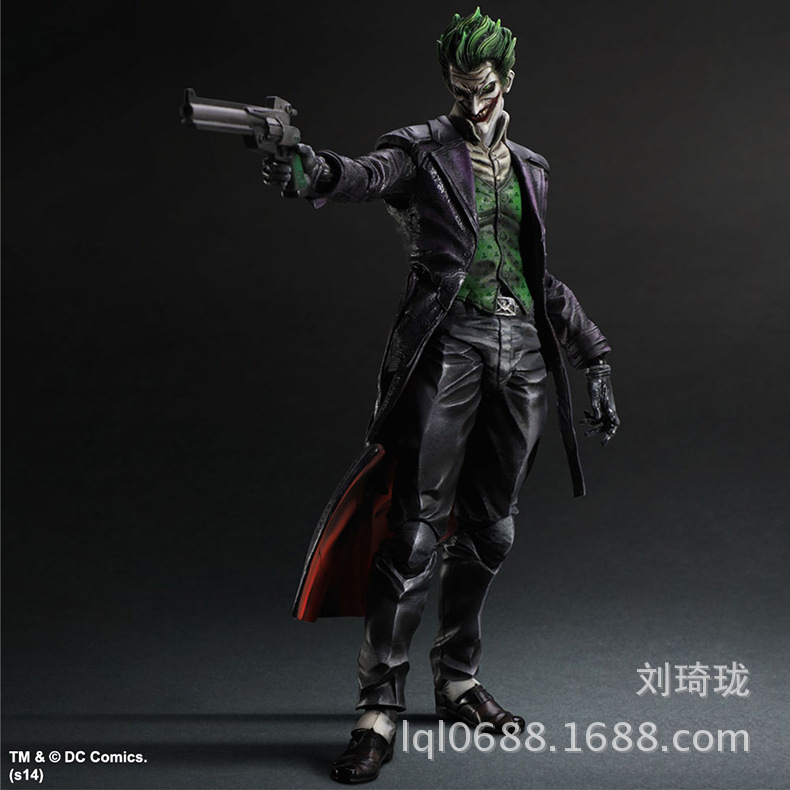 SAINTGI Batman v Superman Dawn of Justice Arkham Knight Joker Kai Doll DC Super Heroes PVC 22CM Action Figure Collection Model