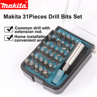 Japan Makita Drill Bit Set Hexagon Drill Phillips Head Screwdriver 18/28/31 piece suits For Electric Drill and Screwdriver