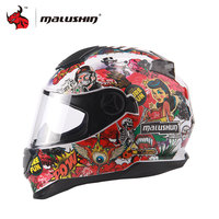 MALUSHUN Capacete De Moto Mens Women Racing Moto Helmets Motorcycle Full Face Riding Helmet Motorbike Flip