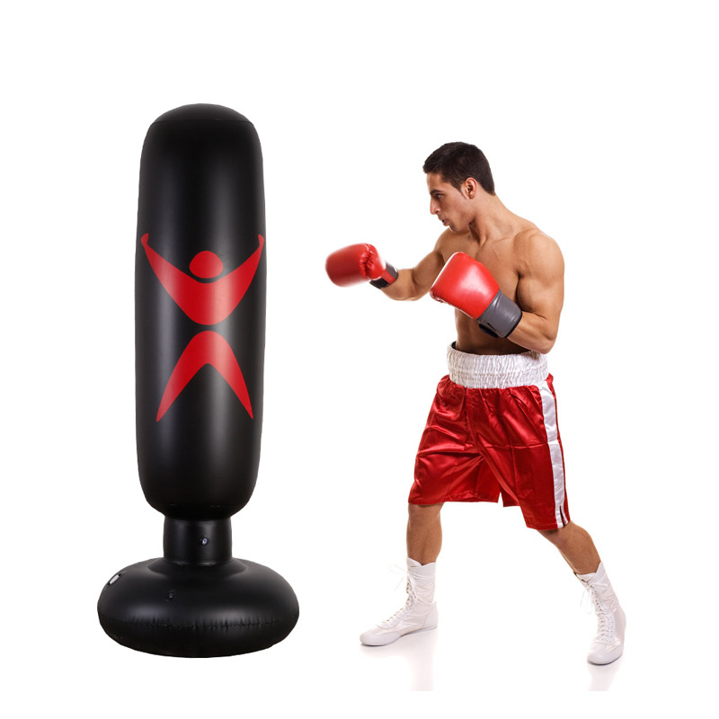 5 Colors 160cm Training Fitness Boxing Punching Sd Ball For Child Inflatable Bag Sandbags Vent Tool