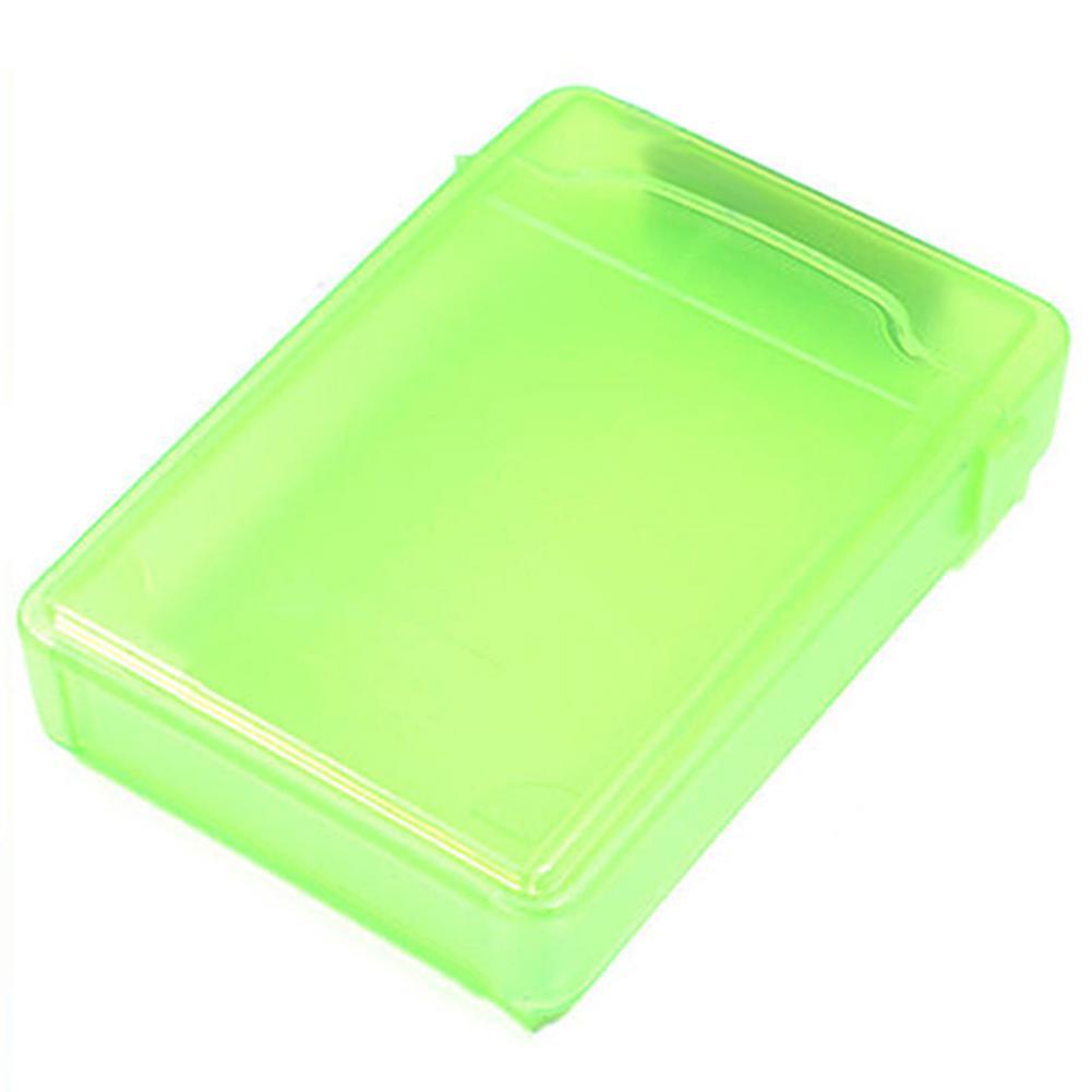NEW 3.5 Inch SATA IDE Hard HDD Drive Storage Case Box Green