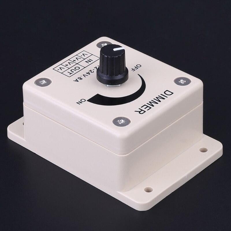 Vorsichtig Super 12 V 8a Pir Sensor Led Streifen Licht Schalter Dimmer Helligkeit Einstellbar Extrem Effizient In Der WäRmeerhaltung Rgb-controller