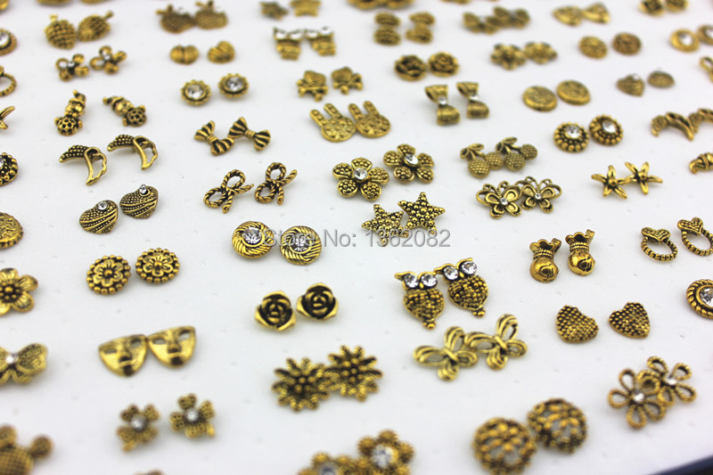 Earring Sticker Picture More Detailed Picture About Wholesale Lot 100 Pairs Mixed Design