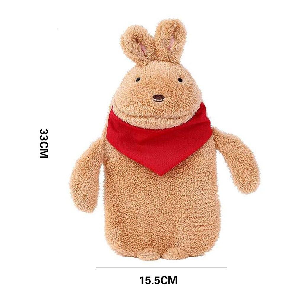 Грелка для рук теплая водонепроницаемая сумка прочная ворсовая теплая Подарочная компресс с солью кролика