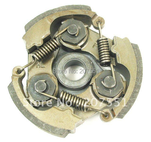 Clutch shoes for 47/49cc Pocket bikes, ATVs, mini choppers and dirt bikes d