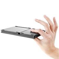 for Mi Pad 4 OTG MiPad Wireless keyboard bluetooth Rechargeable BT Touchpad Portable keyboard Ultra Thin Light ABS Mini