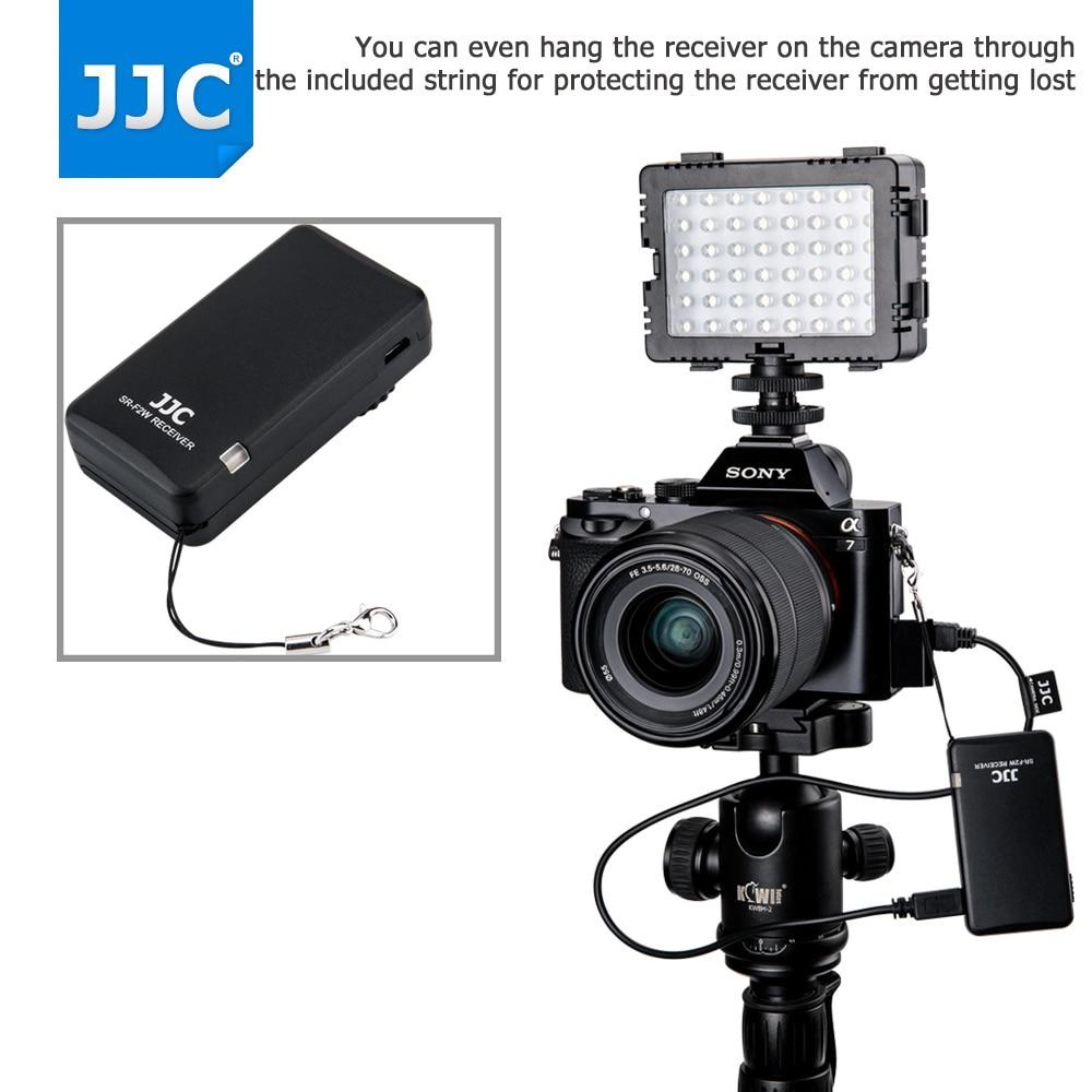 JJC Camera or Camcorder Wireless Remote Controller 2.4Ghz for Sony a6500/a6300/a6000/a7R III/RX100 IV/FDR-AX30/HDR-CX420 видеокамера sony fdr x1000v 4k
