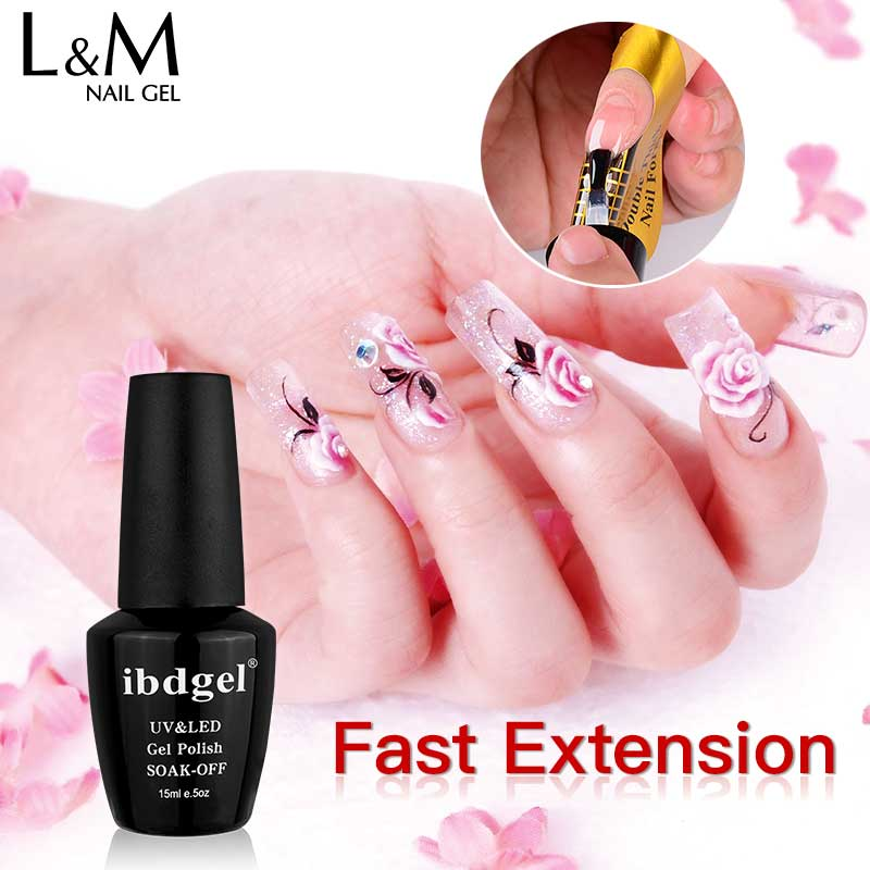 1 Pc 15ml Natural Nude 6 Colors UV Builder Gel Nail Polish Camouflage Acrylic for Art Extension