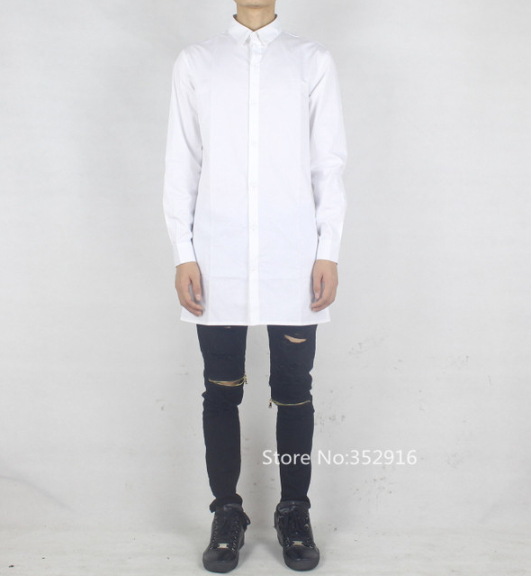 Long White Shirt Men | Is Shirt