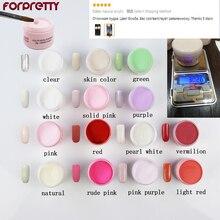 Acrilico Unha 20g Acrylic Powder Acryl Nail Poeder For Nagels Akrilik White Akryl Pink Clear Polvo Poudre Acrylique Pour Ongle все цены