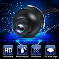 Mini CCD HD Car Rear View Camera Front Side View Parking Reverse Camera with 360 Degree Rotation Night Vision