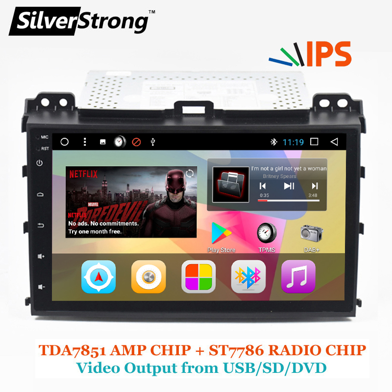 SilverStrong 2Din IPS DSP Android7.1 GPS Car Radio For TOYOTA Prado 120 For LEXUS GX470 Car GPS Land Cruiser Prado 120 IPS DSP silverstrong 2din ips dsp android7 1 gps car radio for toyota prado 120 for lexus gx470 car gps land cruiser prado 120 ips dsp