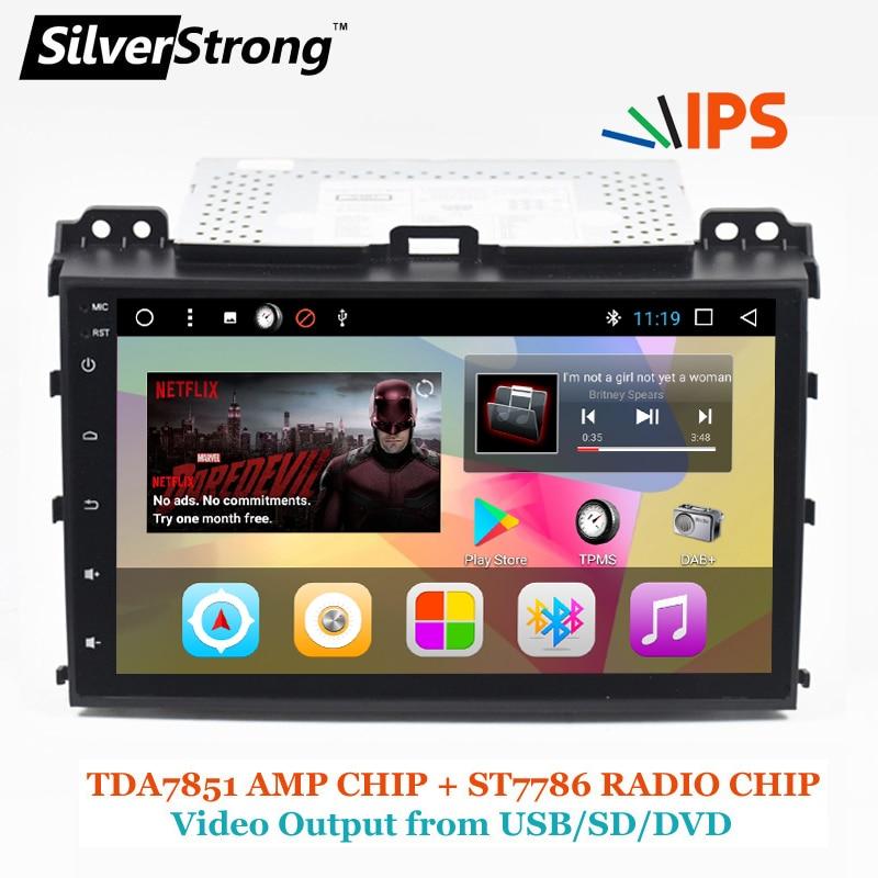 SilverStrong 2Din IPS DSP Android7.1 GPS Car Radio For TOYOTA Prado 120 For LEXUS GX470 Car GPS Land Cruiser Prado 120 IPS DSP ковры в салон элерон toyota lc 120 prado 2002 lexus gx470 2003 салон page 8