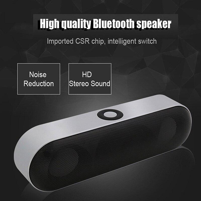 все цены на Mini Bluetooth Speaker Portable Wireless Speaker Sound System 3D Stereo MP3 Music Player Surround Support Bluetooth TF AUX USB