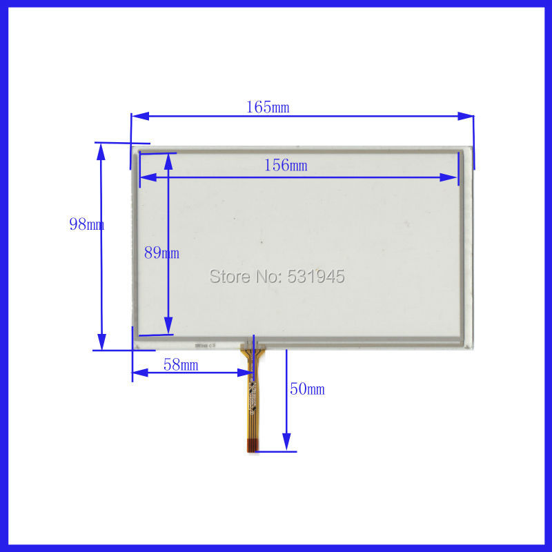 25cccecc4e4c ZhiYuSun for 165mmx100mm Car navigation DVD universal TouchscreenTouch  screen digitizer panel for 165mmx100m