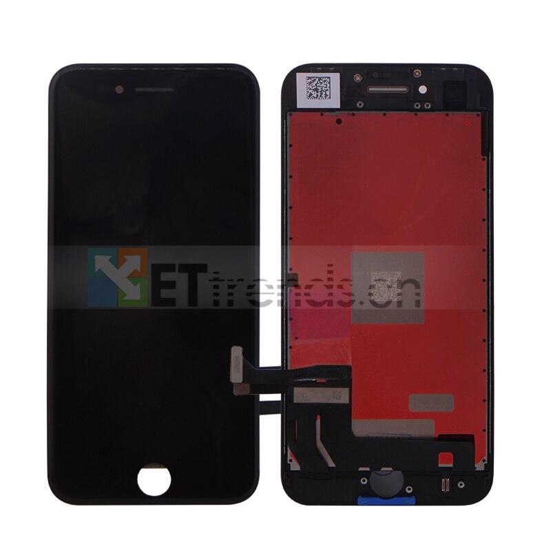 5 teile/los Für iPhone 8 OEM LCD Screen Montage mit Rahmen Schwarz Weiß Keine Tote Pixel DHL Kostenloser Versand