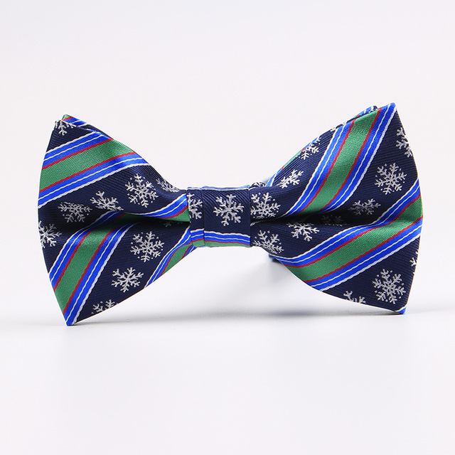 Ricnais Brand New Bow Ties for Men Christmas Tree Bowties For Mens Wedding Cravat Fashion Casual Bowknot Bowties Men Gifts