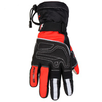 Motorcycle Riding Glove Non Skid Waterproof Motorcycle Gloves Knight Equipment Velvet Cold Resistant Touch Screen Gloves