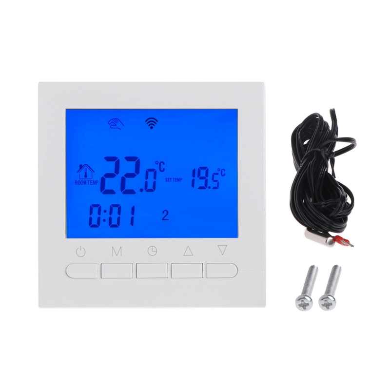 WIFI LCD Electric Heating Thermostat Room Temperature Controller ProgrammableWIFI LCD Electric Heating Thermostat Room Temperature Controller Programmable