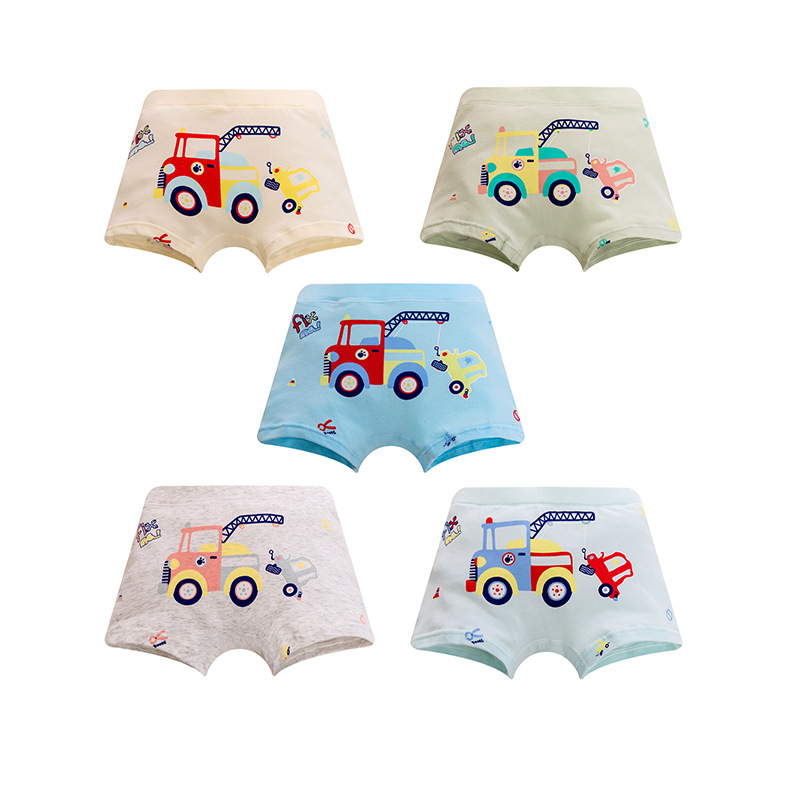 2019 New Arrived Free Shipping High Quality Boys Baby Boxer Shorts Panties Kids Carl Children Underwear 1-10years 5pcs/lot
