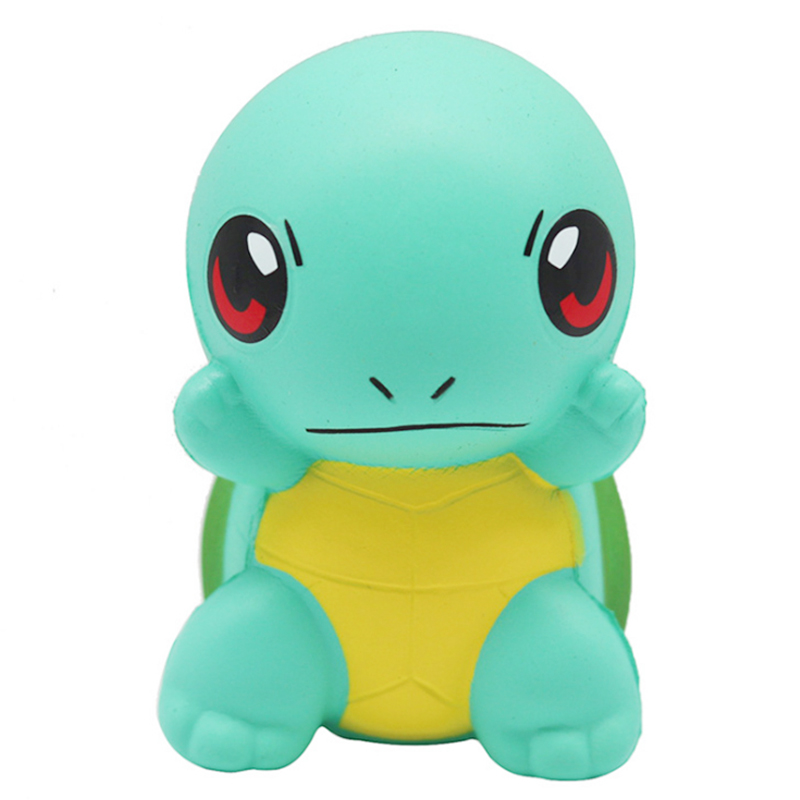 New Cute Green Turtle Doll Squishy Slow Rising Simulated Animal Soft Squeeze Toys Stress Relief Novelty Fun For Kid Gift Toy