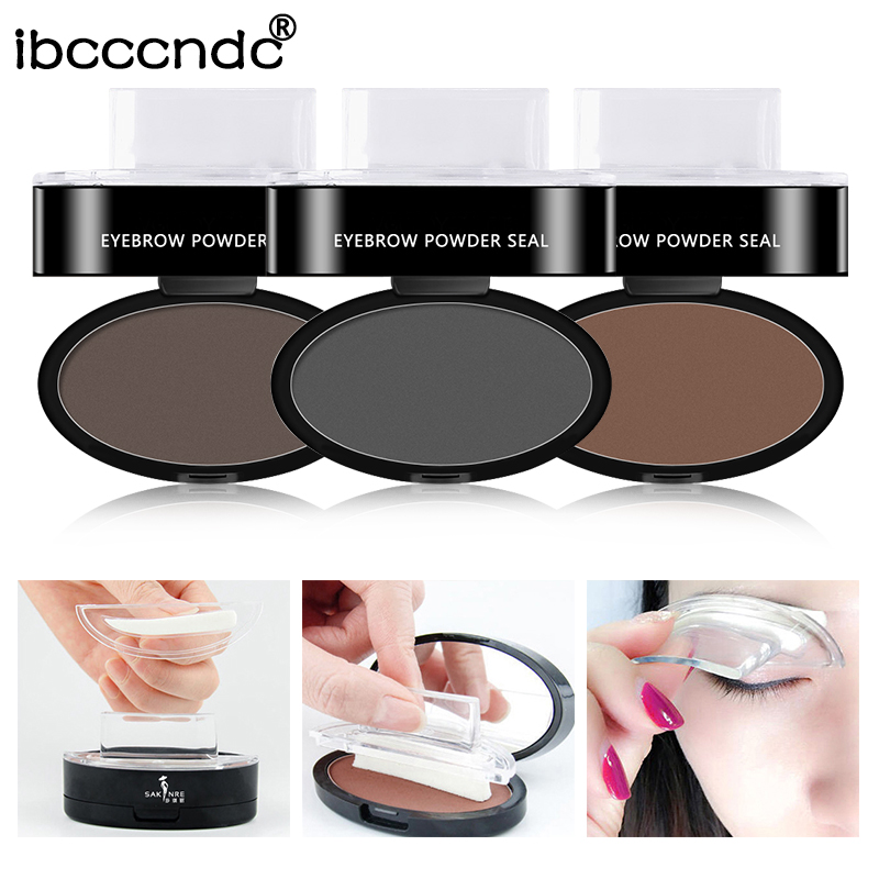 Eyebrow Enhancers Back To Search Resultsbeauty & Health Eyebrow Stamp Seal Palette Set Two Color Shadow Powder Waterproof Eye Brow Stamp Powder Natural Shape Eyebrows Powder Palette