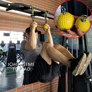 Image 5 - למשוך עד כוח כדור יד אימון גריפ כדור אימון זרוע ושרירים גב למשוך כוח חיזוק כדור עמיד ו החלקה גריפ