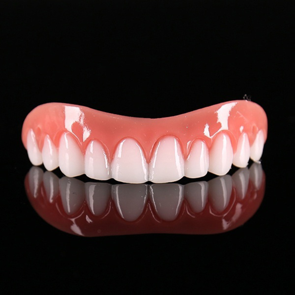 1Pc Cosmetic Teeth Snap On Secure Smile Veneers Dental False Natural