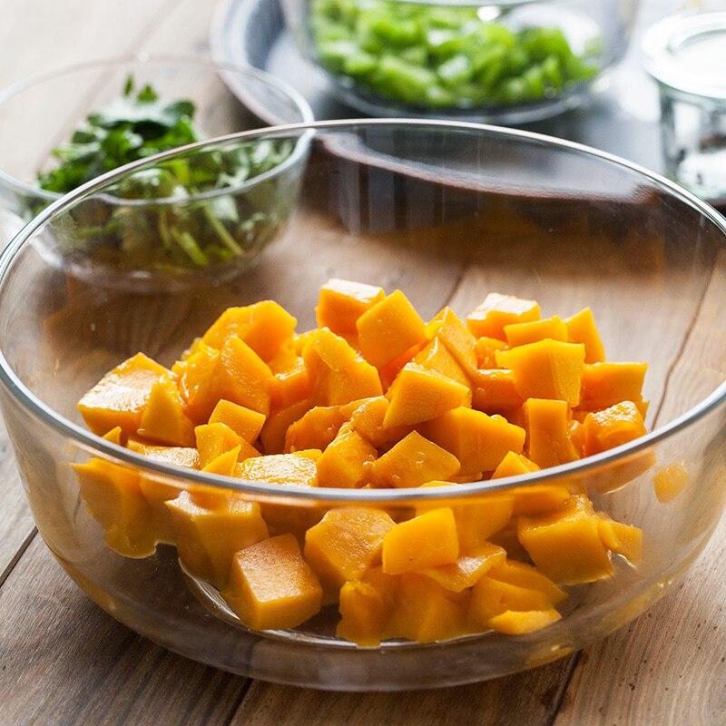 Klarglas schüssel gerichte salatschüssel geschirr sets küche ...