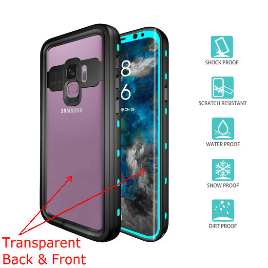 samsung s9 waterproof case (2)light blue_1_