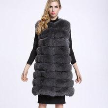 Long Fur Vest Jacket