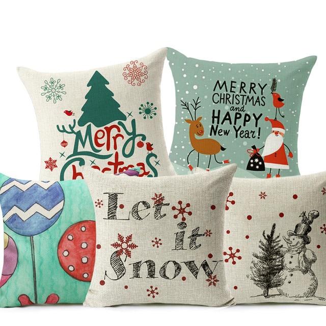 Let It Snow Rivestimenti di Stile di Natale Buon Natale! Calze Babbo natale Ball