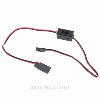 цена на 5 Pieces / Lot Dupont Connector Jumper Wire For Arduino RC Battery with On / Off Switch