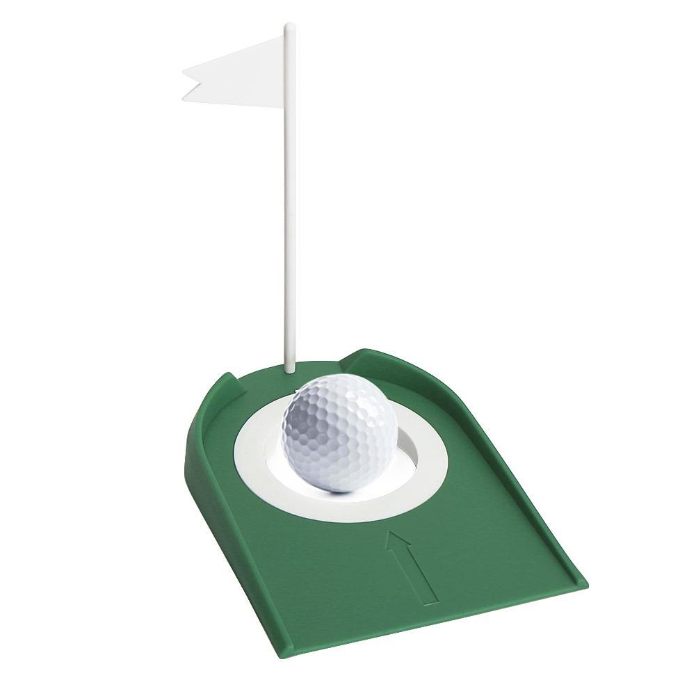 Image 3 - High Quality Golf Putting Practice Cup Golf Putting Green Regulation Cup Hole With Flag Indoor Practice Training Aids Portable-in Golf Training Aids from Sports & Entertainment