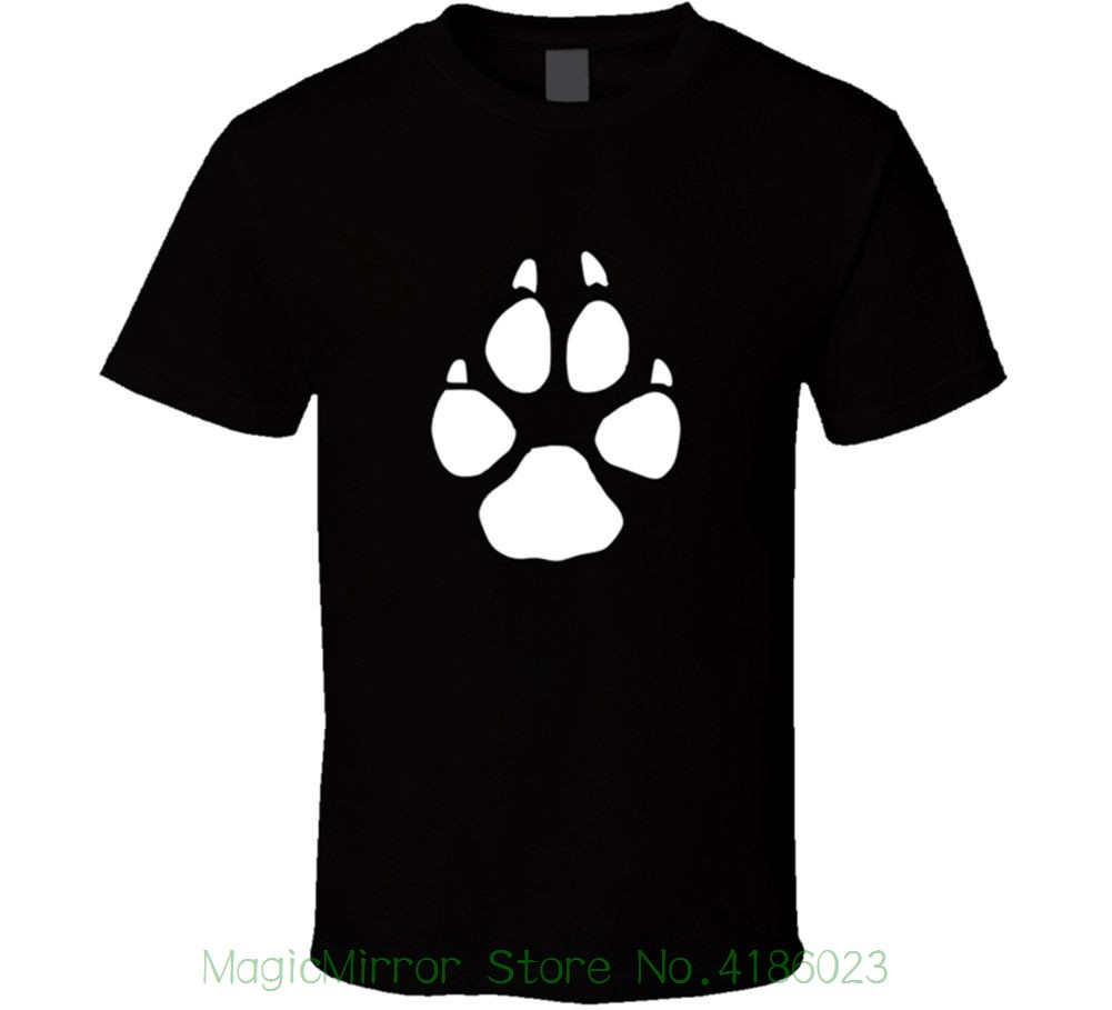 Coyote Tracks Mens Black T-shirt Animal Hunter Print Size S To 3xl New From Us Hot New 2018 Summer Fashion T Shirts