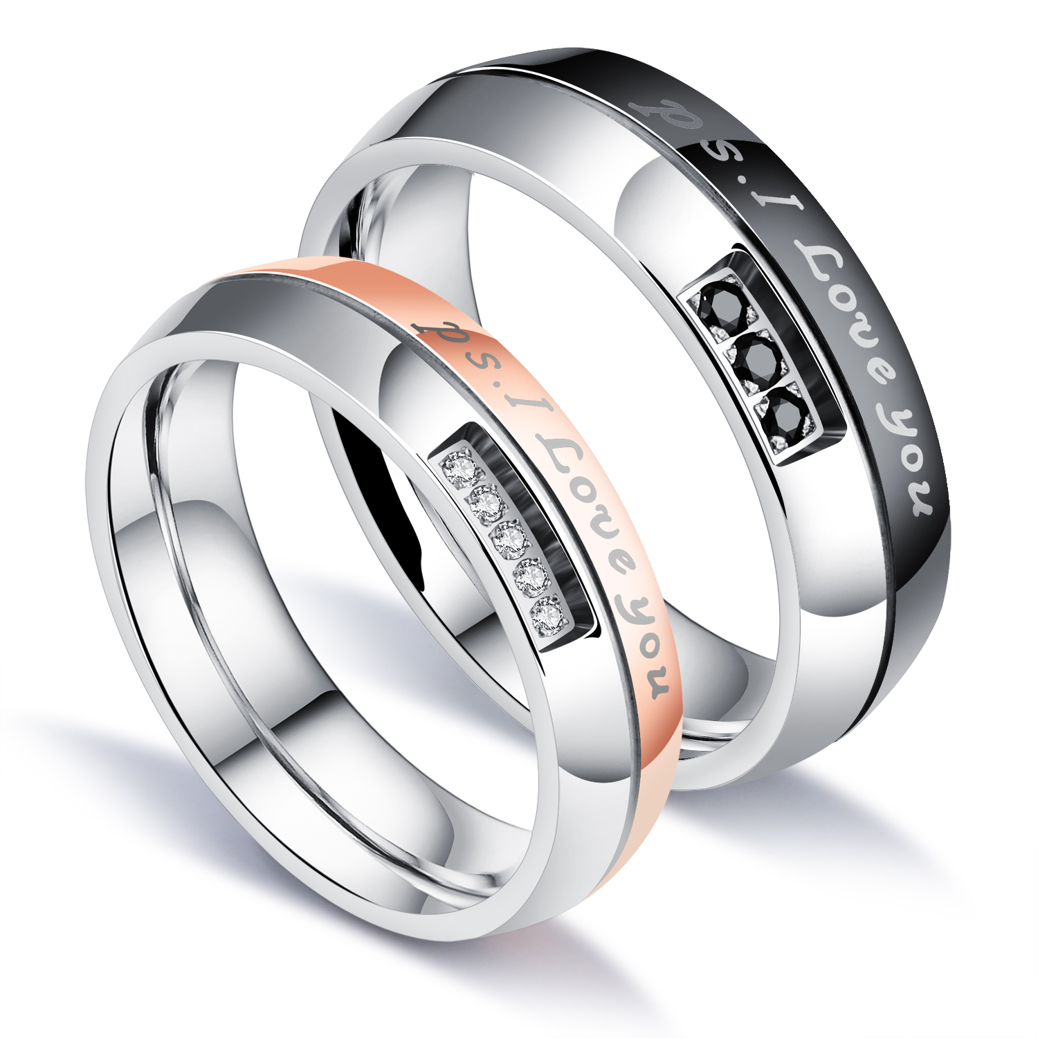 Aliexpress Buy Fashion Lovers Jewelry Wedding Ring Romantic