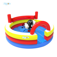 Round Inflatable Bull Riding Machine Cheap Rodeo Bull For Rental