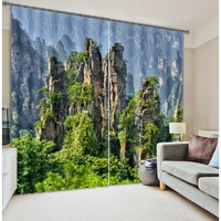 China Zhangjiajie scenic curtains 3d printing