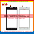 """Высокое Качество 4.5 """"для Huawei G600 Honor 2 U9508 G600 U8950D Сенсорный Экран Датчик Дигитайзер Переднее Стекло Объектива Панель Черный Белый"""
